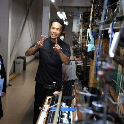 博多織工場見学&お土産プロジェクト