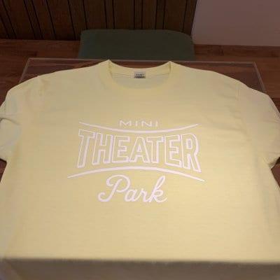 【MTP・イエロー Tシャツ】ミニシアター限定販売仕様&背中にシアド...