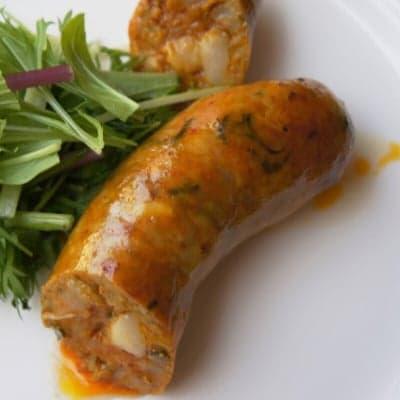 「サイウア」レッドカリー風味のタイ チェンマイソーセージ