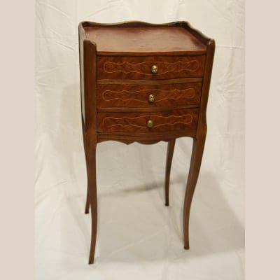 【フレンチアンティーク家具】ベットサイドテーブル