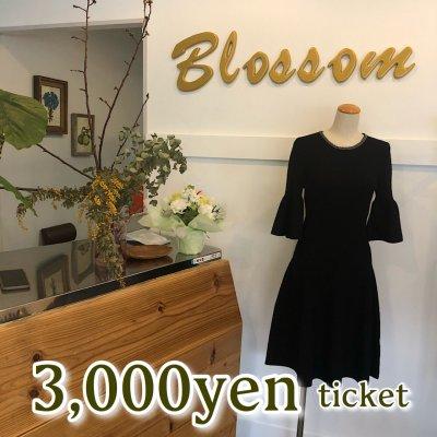 Blossom*商品券3000円