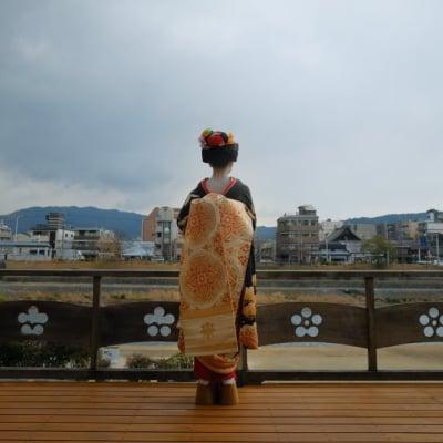 10月7日 舞妓 秀芙美さんお店出しのお祝いと応援撮影会