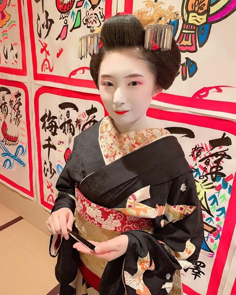 第10回 舞妓倶楽部定例会 10月お店出しの梅千沙ちゃんを囲んで!のイメージその2