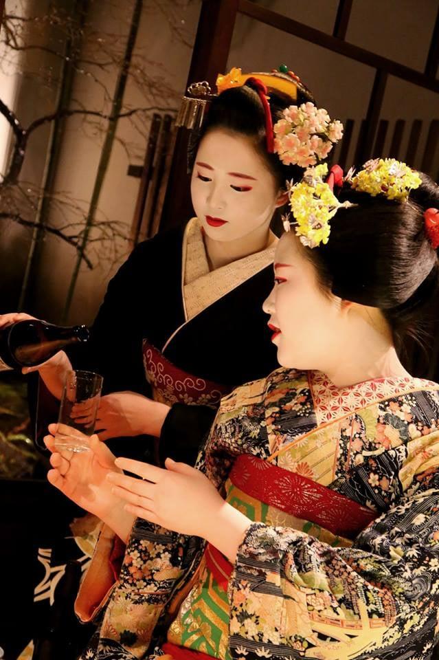 令和2年1月11日(土) 梅ひなちゃん 舞妓倶楽部定例会 上七軒「紅梅庵」のイメージその5