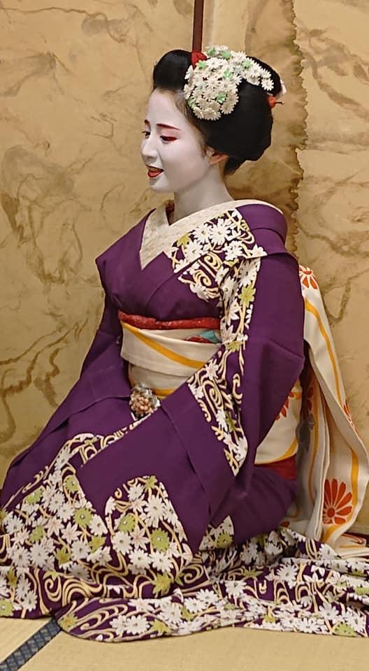 令和2年1月11日(土) 梅ひなちゃん 舞妓倶楽部定例会 上七軒「紅梅庵」のイメージその1