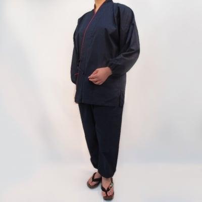 くつろぎの作務衣(藍色)