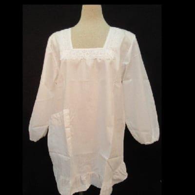 洋装白カッポ着