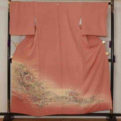 色留/ピンク 山野辺の道(正絹)M 2413-010