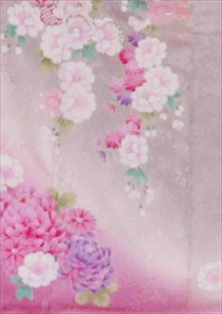 中振/グレ−地牡丹梅IKKO (正)袖丈110泉友彩 2370-090のイメージその2