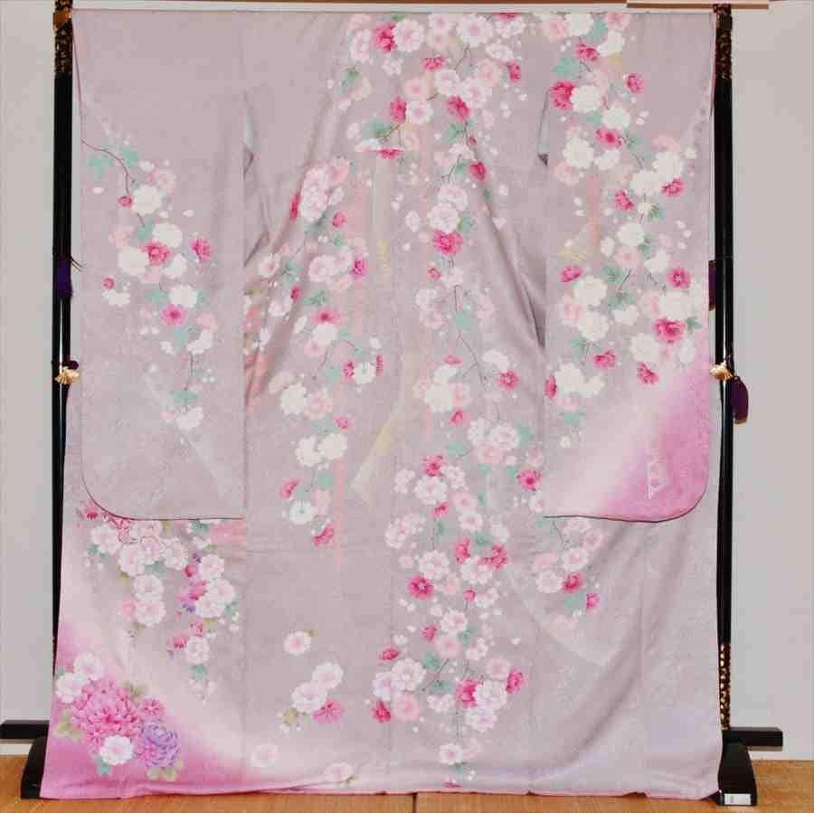 中振/グレ−地牡丹梅IKKO (正)袖丈110泉友彩 2370-090のイメージその1