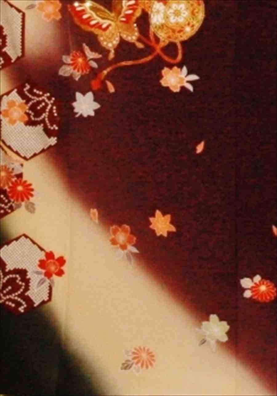 中振/チャコールグレー地亀甲鼓(正)袖丈108裄68 M寸 2370-040のイメージその2