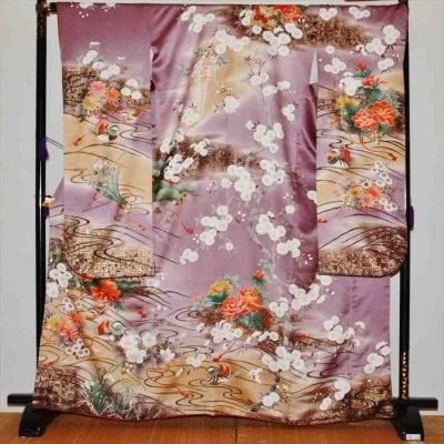 中振/うす紫ボタン  776(正)袖丈108 2357-120