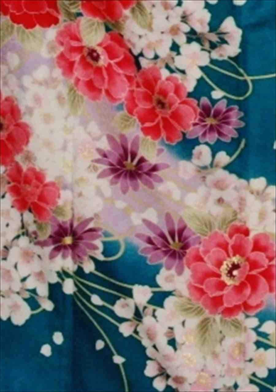 中振/ブル−グリン大輪(化)泉友彩/袖108 2350-110のイメージその2