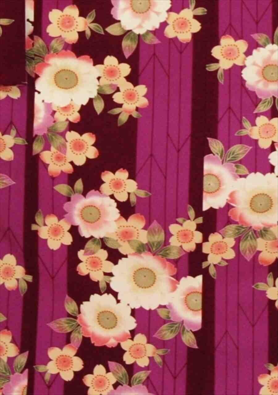 中振/紫縞桜ロマン(袋帯セット)(カ)袖丈108 泉友彩 2340-100のイメージその2