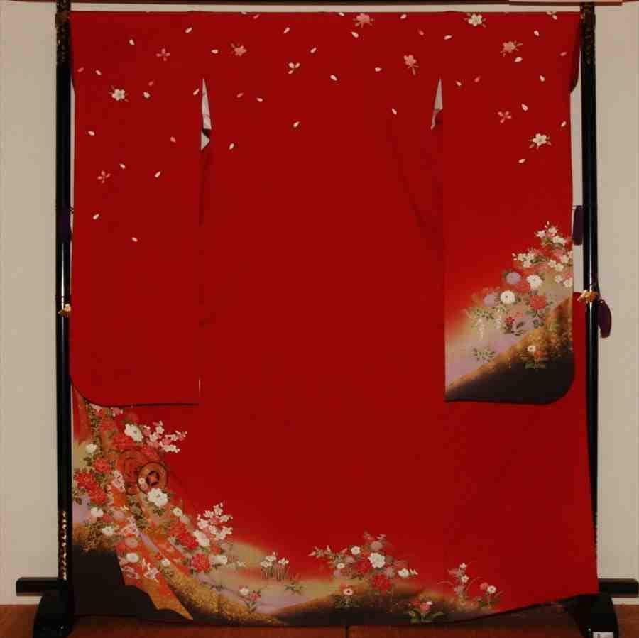 中振/赤地につづみリボン (正)袖丈108 泉友彩 2330-030のイメージその1