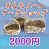 みんなノハコ2000円分ワークショップウェブチケット▲現地払い専用▲
