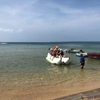 バナナボート(10分)