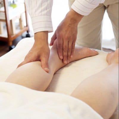 リンパマッサージ付き自律神経調整+全身施術+ストレス除去施術(100分)