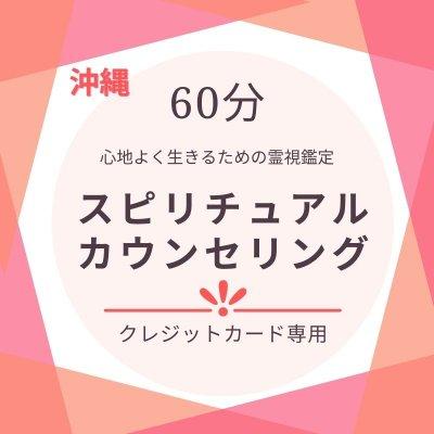 【60分】スピリチュアルカウンセリング(クレジット払い専用)