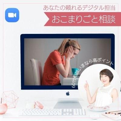Web・PC迷子のためのお困り事相談 60min オンライン個別相談 超お得!実質1050円でご相談!