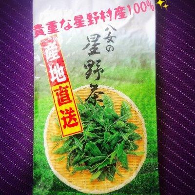 新茶 八女市星野村産 100g/送料無料