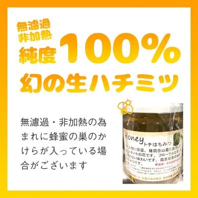 糸魚川産生ハチミツ(けんぽなし)【通販専用商品】