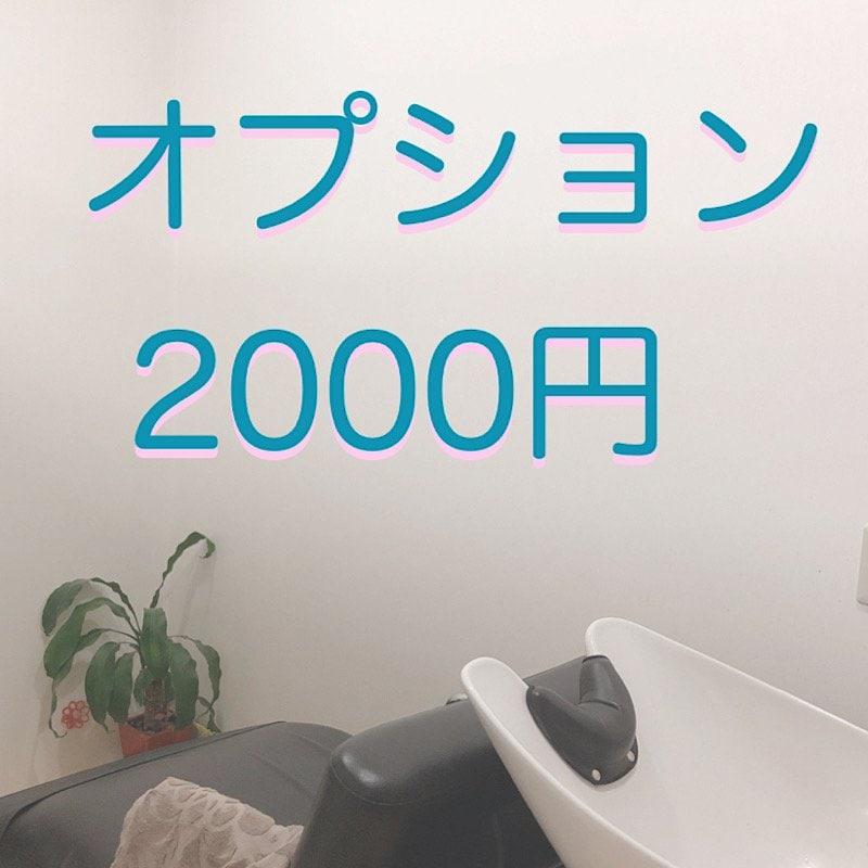オプション2000円のイメージその1