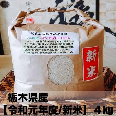 【特別栽培】新米 4kg(令和元年度)栃木県産