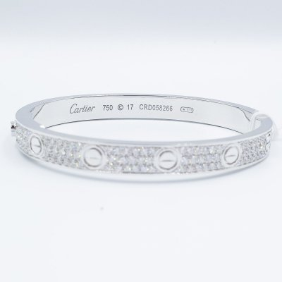 Cartier Inspired Love Bangle