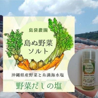島ぬ野菜ソルト 野菜だしの塩