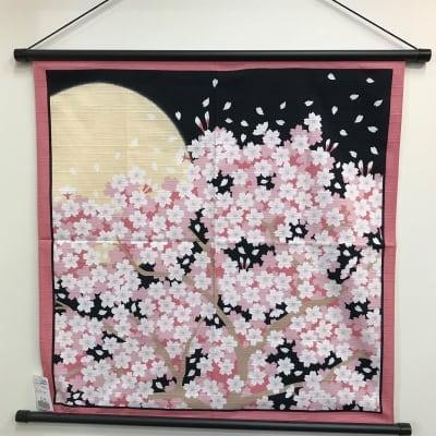 当店人気ナンバー1!季節のお手軽タペストリー桜1