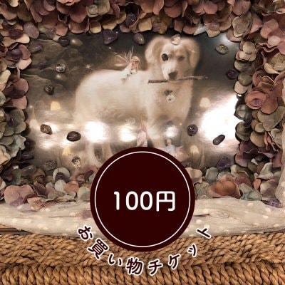 店頭払い限定★お買い物チケット100円