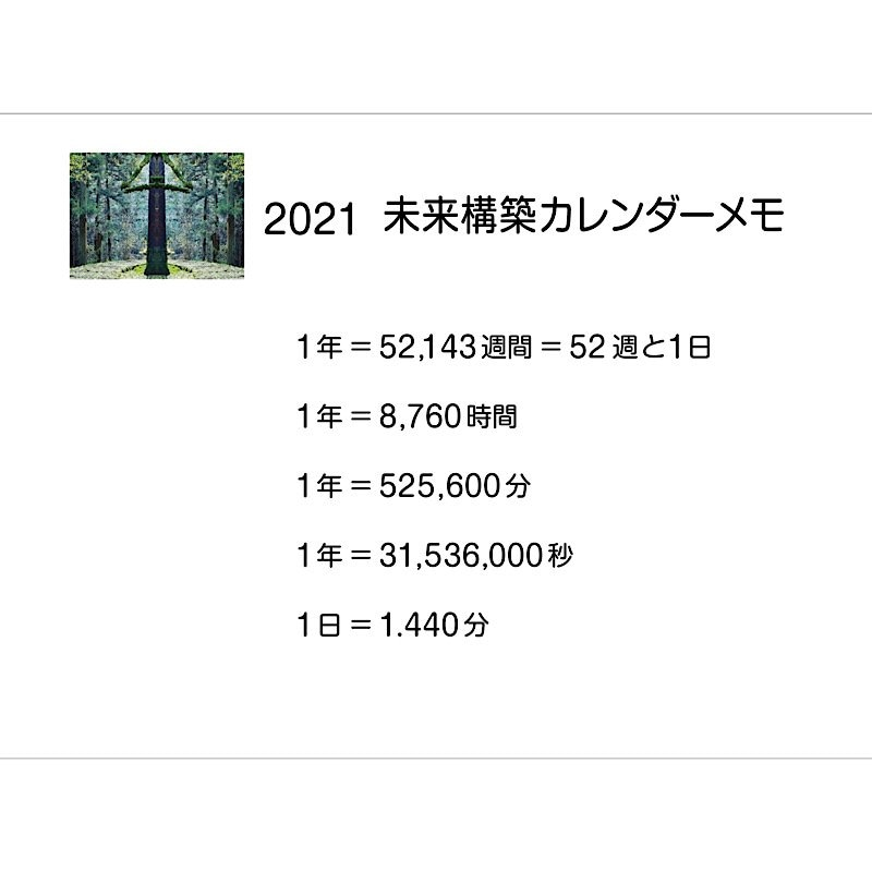 【店頭払い限定】2021未來〜キメタラキマル〜カレンダーメモ帳のイメージその2