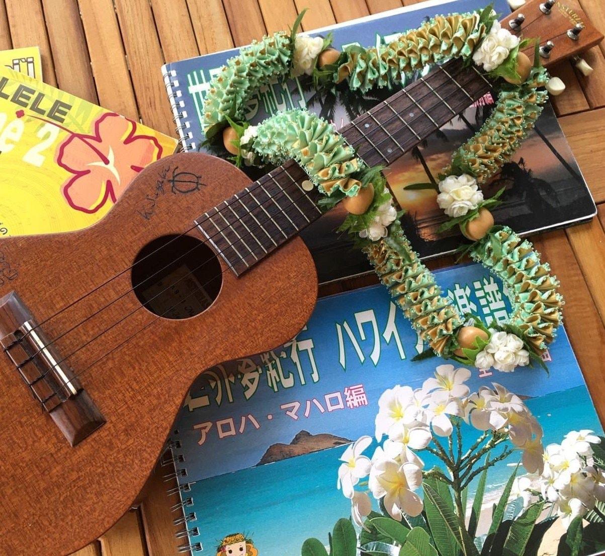ウクレレ体験を福岡のハワイ!糸島で♪ 初めての人も楽しめる!ゆるゆるのんびり楽しむ音色♪ クリスマスバージョン☆彡のイメージその1