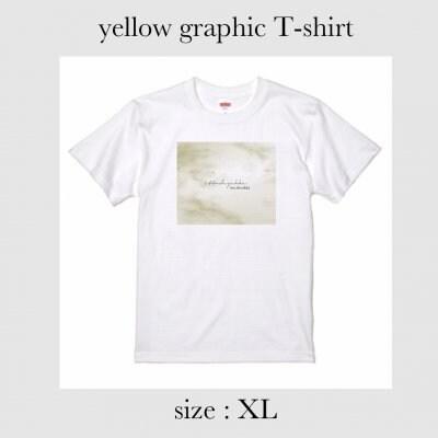 yellow graphic Tシャツ XLサイズ
