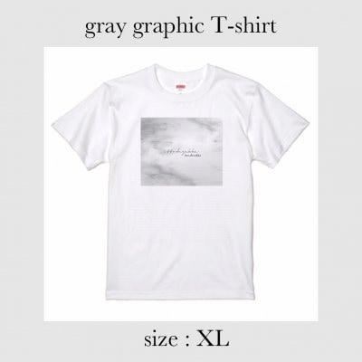 gray graphic Tシャツ XLサイズ