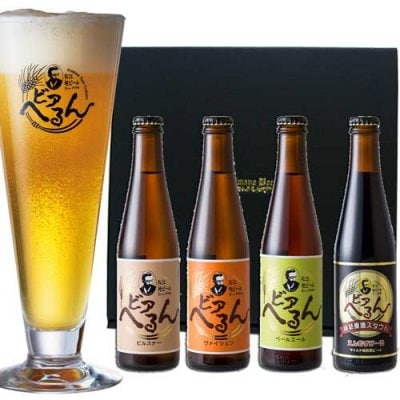 金賞 松江地ビール / ギフト専用セット / 300ml瓶4本 / ヴァイツェン/ ...
