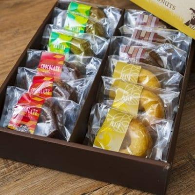 【メルマガ登録済みお客様専用】ゆめぴりかドーナッツ4味12個セット(プ...