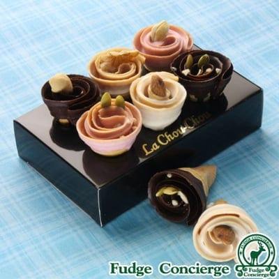 【ホワイトデー限定商品】薔薇のような♪新商品チョコレートスイーツ LA CHOU CHOU (ラ・シュシュ)