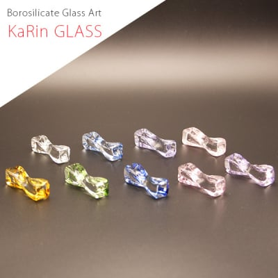 日本製 ガラス 箸置き 耐熱ガラス KaRin GLASS