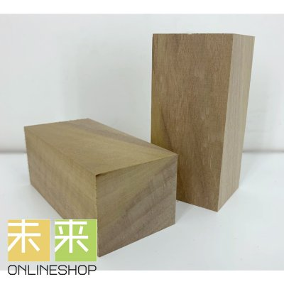 【DIY・彫刻材としても】ホウノキ(ホオノキ)角材 47mm*100mm*40mm