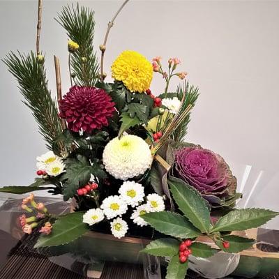 【お正月用のお花★スタンダード】 華やかで縁起の良いお花を飾って、最高の1年をスタートしませんか?