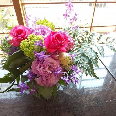 お花から元気をもらおう!華道家が生けたお花を家に飾りませんか?(持ち帰りミニ)