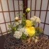 【感謝の気持ちをお花にのせて 華道家による完全オリジナル作品を贈りませんか?】理祥の記念日いけばなミニ
