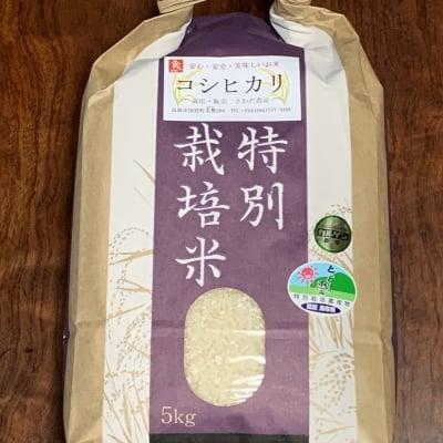 令和元年度 鳥取産コシヒカリ5K 特別栽培米