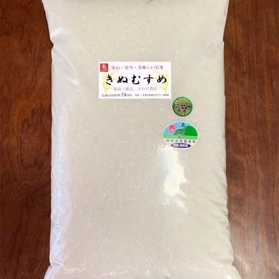 令和元年度鳥取産きぬむすめ10K(5kgx2袋でも可)