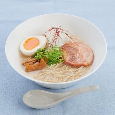 ケアリングラーメン CARING RAMEN(豚骨山椒風味)2食入を3袋セット(麺・スープ付)【藤春幸治シェフ監修】