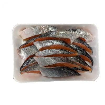 訳あり トラウトサーモン 鮭 切身 約30g 15切を2袋(30切)お弁当に最適
