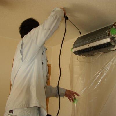 【エアコンクリーニング】家庭用壁掛け型エアコン 分解洗浄 クリーニング 『東京都八王子市周辺地域限定』