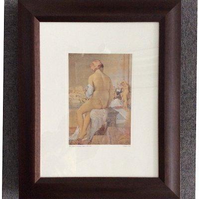 ドミニク・アングル「オダリスク,1864」複製画